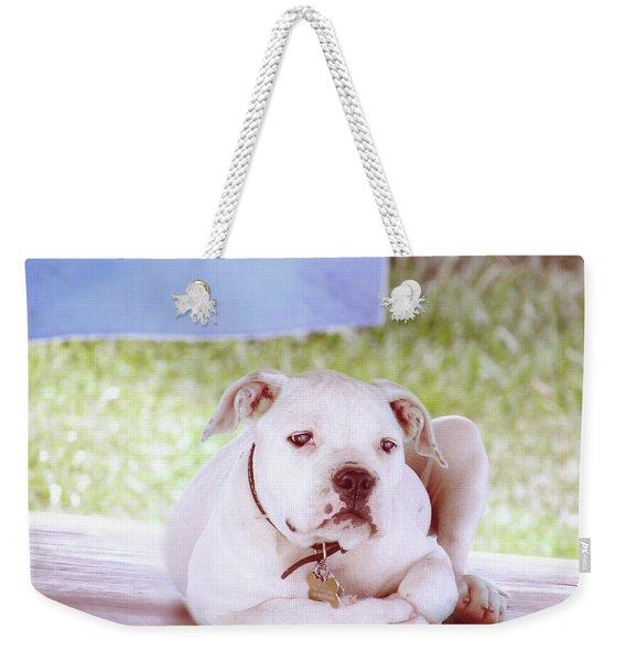 Bulldog Rana Art 80 Weekender Tote Bag