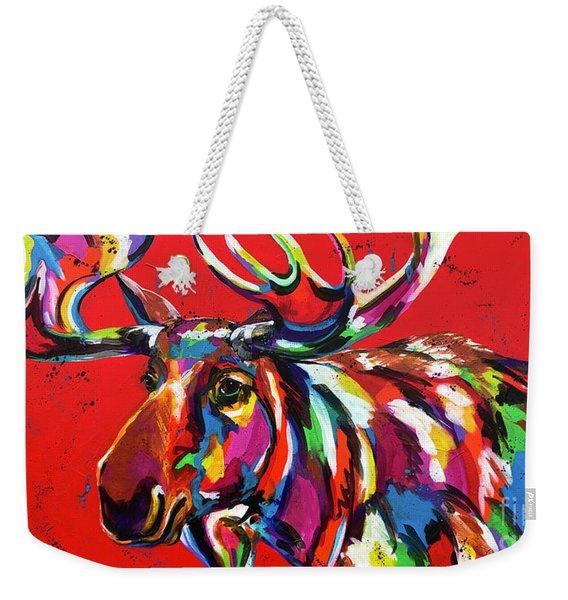 Bully Moose Weekender Tote Bag