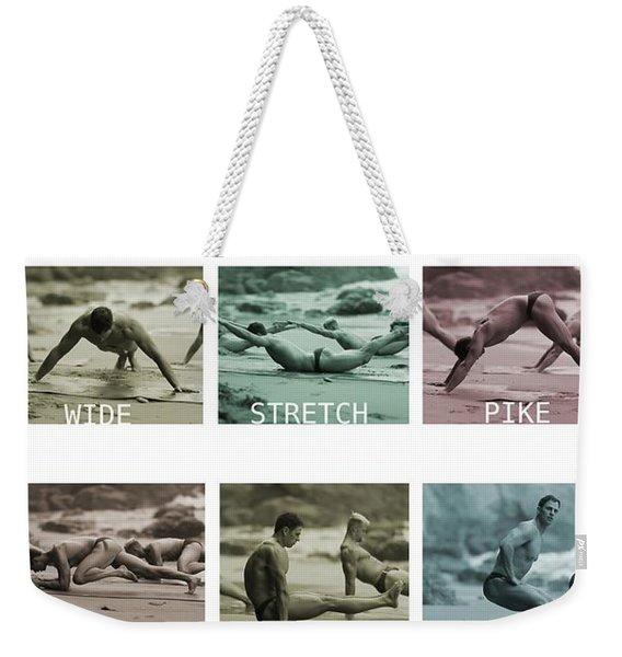 Bum Fit Beach Workout  Weekender Tote Bag