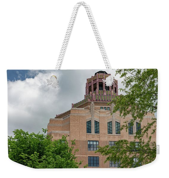 Buncombe County City Hall Weekender Tote Bag