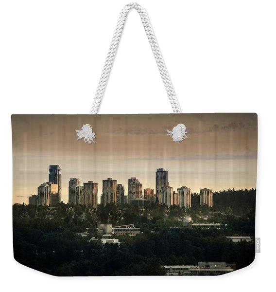 Burnaby Dusk Weekender Tote Bag