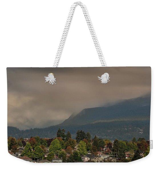 Burnaby Mountain Weekender Tote Bag