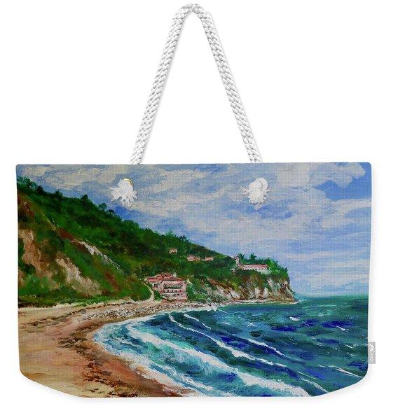 Burnout Beach, Redondo Beach California Weekender Tote Bag
