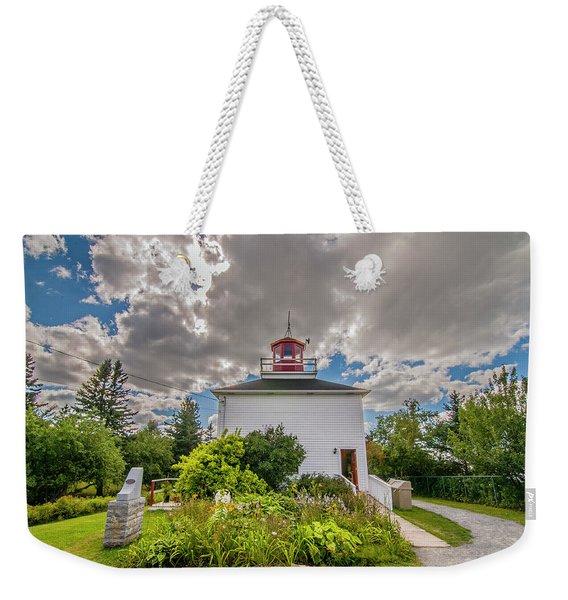 Burntcoast Head Lighthouse  Weekender Tote Bag