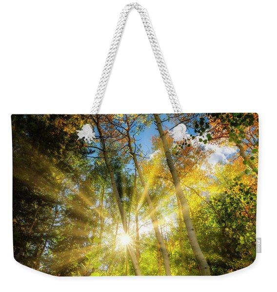 Burst Of Fall Colors Weekender Tote Bag