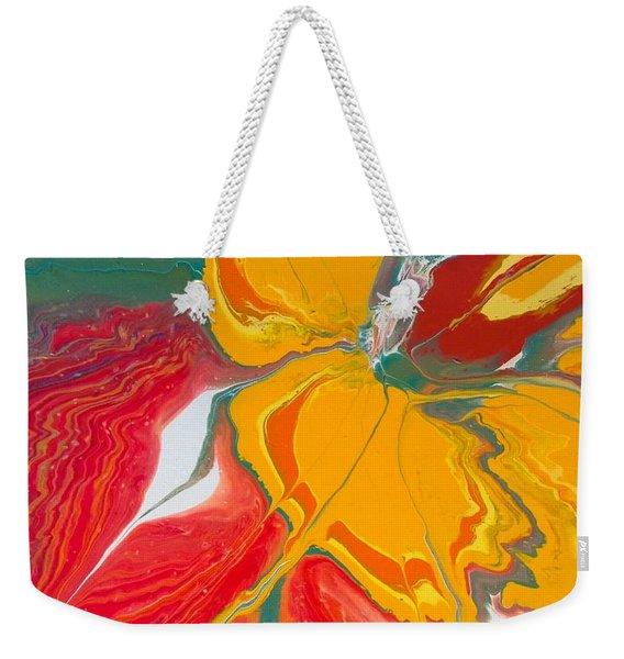 Burst Of Spring Weekender Tote Bag