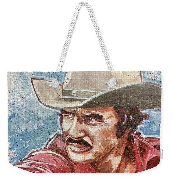 Burt Reynolds Weekender Tote Bag