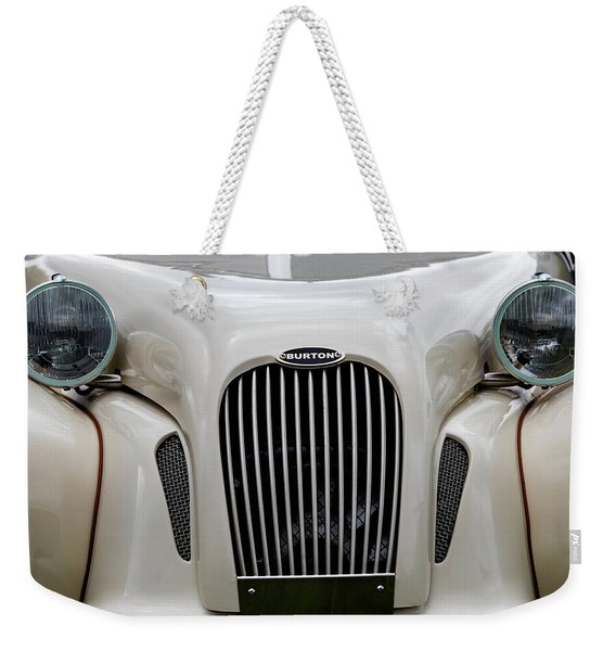 Weekender Tote Bag featuring the photograph Burton by Anjo Ten Kate
