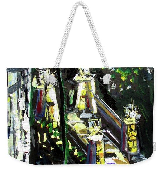 Burton Lanterns Weekender Tote Bag