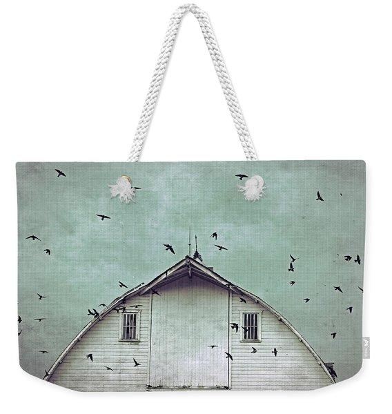 Busy Barn Weekender Tote Bag