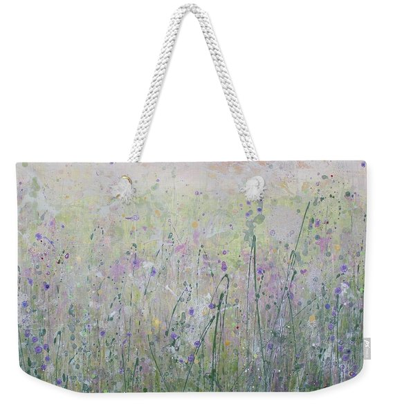 Buttercups And Bluebells Weekender Tote Bag