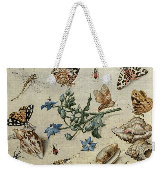 Butterflies, Clams, Insects Weekender Tote Bag