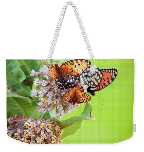 Butterfly Buffet II Weekender Tote Bag