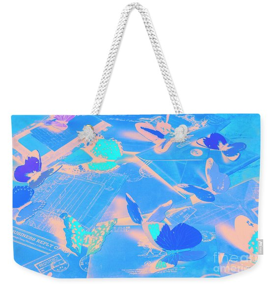 Butterfly Effects Weekender Tote Bag