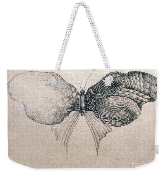 Butterfly For Jeffrey Weekender Tote Bag