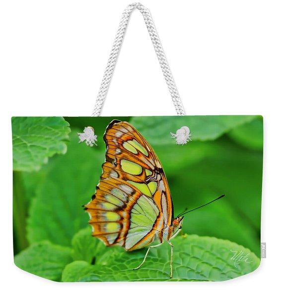 Butterfly Leaf Weekender Tote Bag