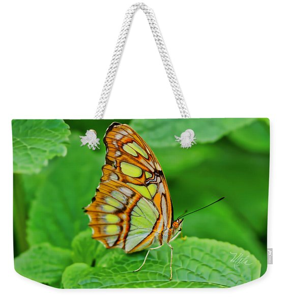Butterfly Leaf Weekender Tote Bag