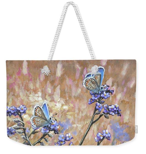 Butterfly Meadow - Part 3 Weekender Tote Bag