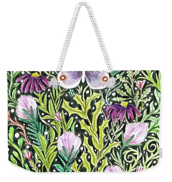 Butterfly Tapestry Design Weekender Tote Bag