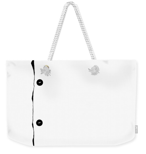 Buttons - A Tribute - White Weekender Tote Bag