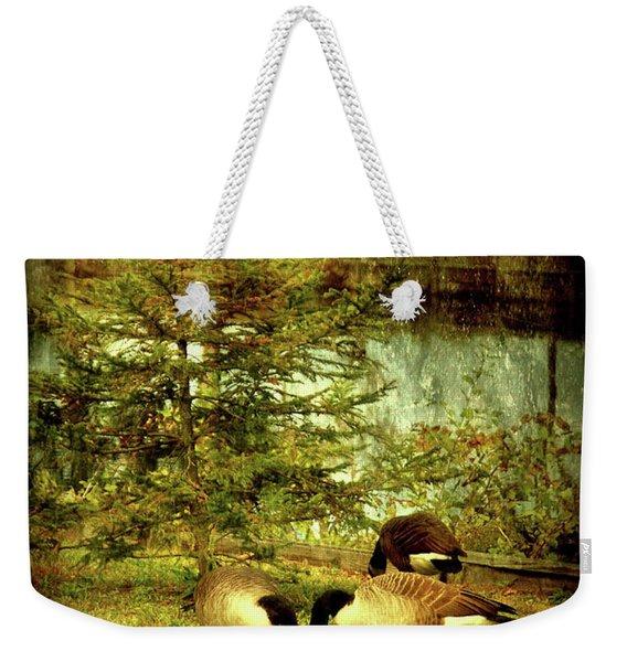 By The Little Tree - Lake Carasaljo Weekender Tote Bag