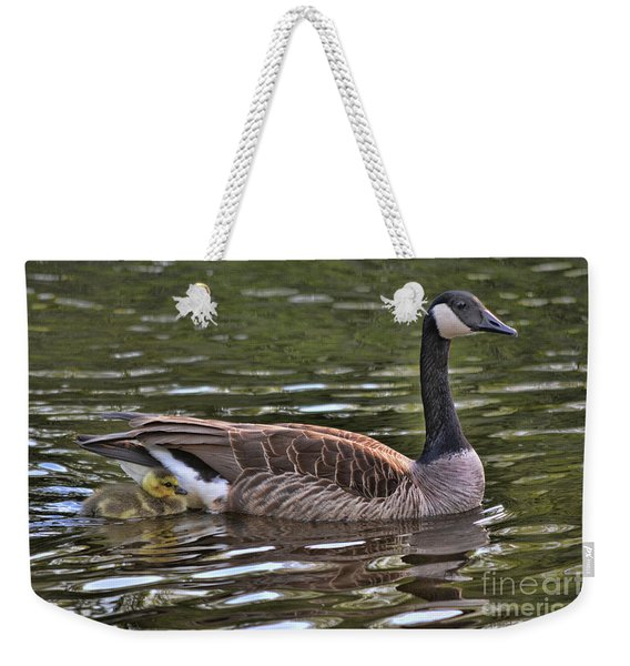 By Your Side Weekender Tote Bag