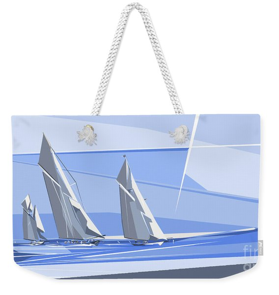 C-class Yachts Weekender Tote Bag