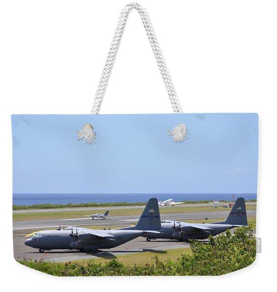 C130h At Rest Weekender Tote Bag