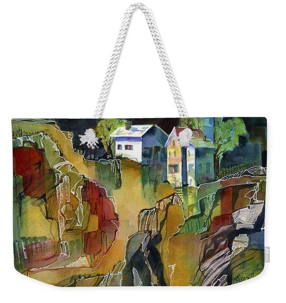 Cabin Life Weekender Tote Bag