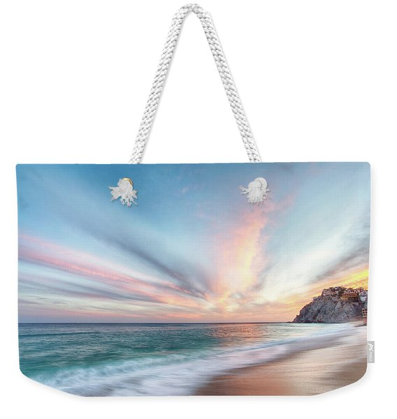 Cabo San Lucas Beach Sunset Mexico Weekender Tote Bag