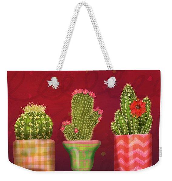 Cactus Friends I Weekender Tote Bag