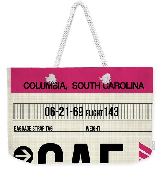 Cae Columbia Luggage Tag I Weekender Tote Bag