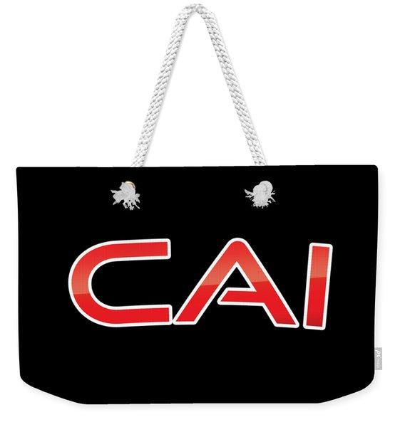 Cai Weekender Tote Bag