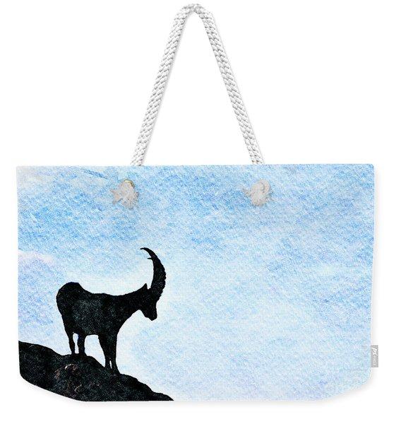 Calanda Ibex Weekender Tote Bag