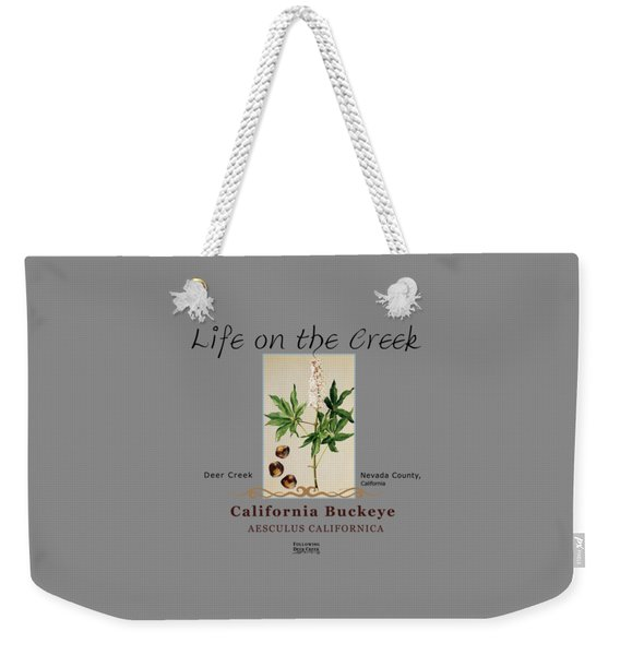 California Buckeye Weekender Tote Bag