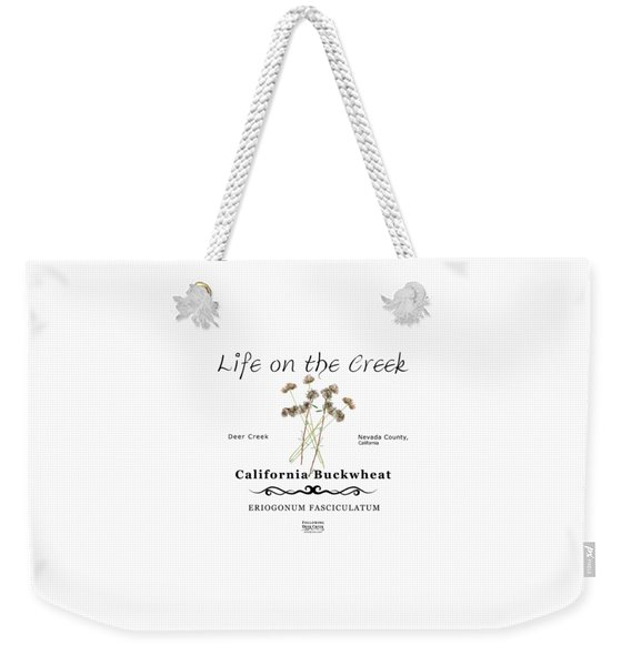 California Buckwheat Weekender Tote Bag