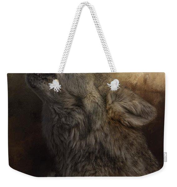 Call Of The Wild Weekender Tote Bag