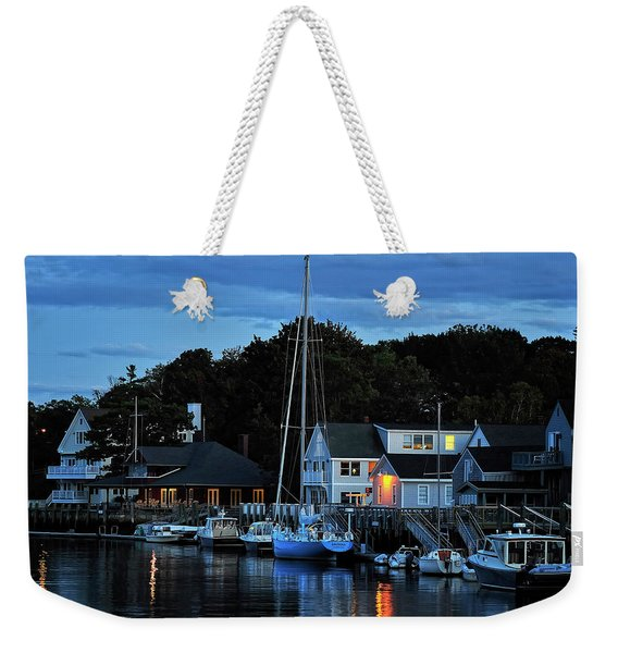 Camden Maine Twightlight Weekender Tote Bag