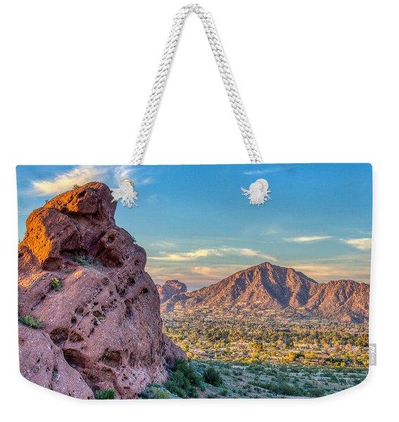 Camelback Mountain  Weekender Tote Bag