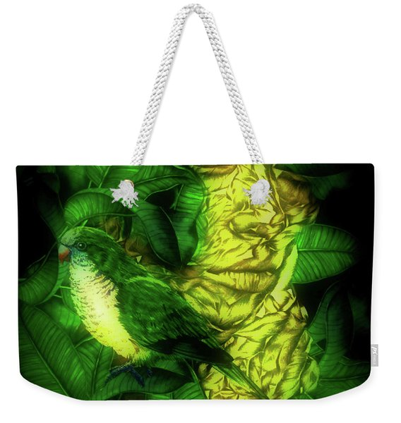 Camouflage Rainforest Beauty 02 Weekender Tote Bag