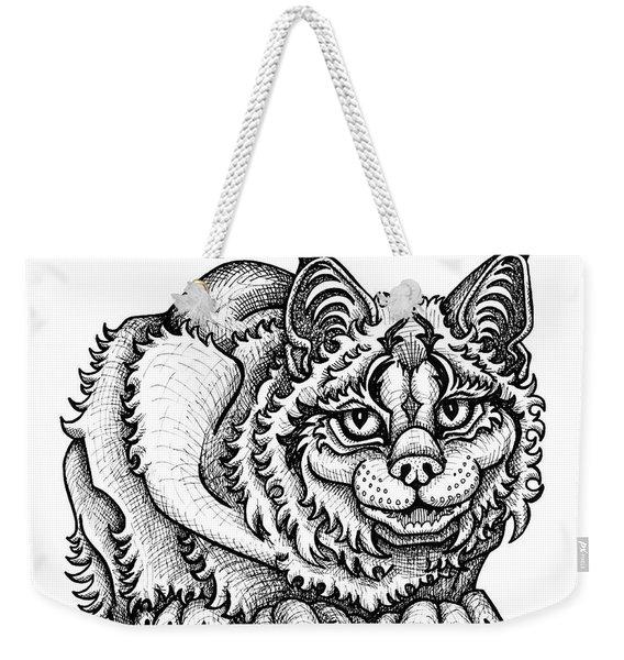 Canada Lynx Weekender Tote Bag