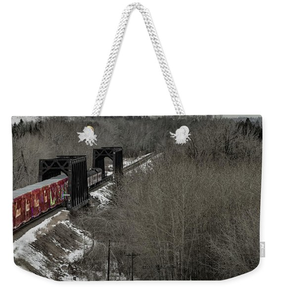 Canadian Pacific Holiday Train 2018 I Weekender Tote Bag