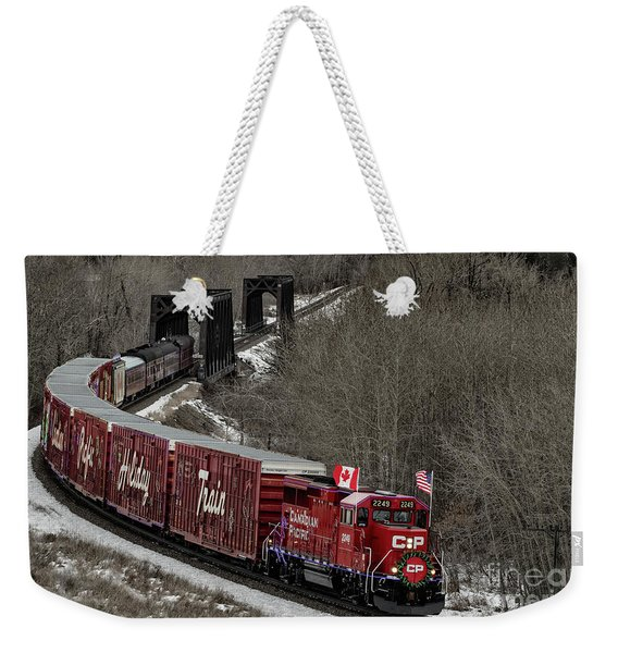 Canadian Pacific Holiday Train 2018 II Weekender Tote Bag