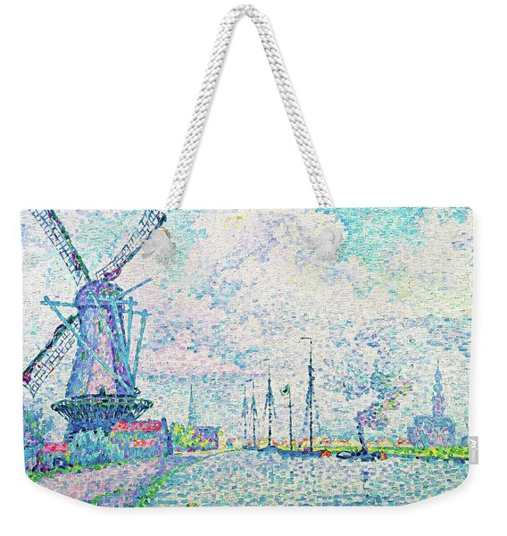 Canal Of Overschie - Digital Remastered Edition Weekender Tote Bag