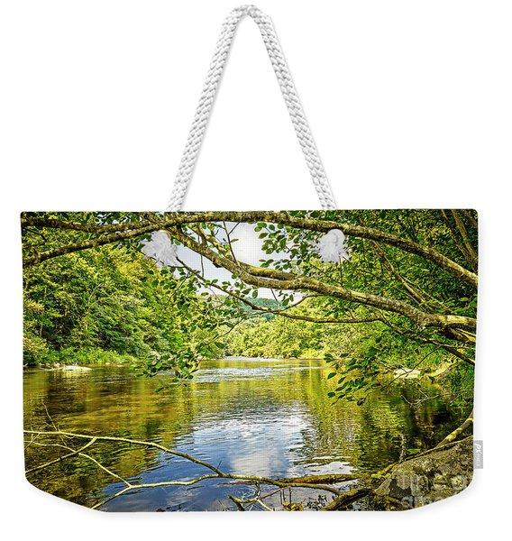 Canal Pool Weekender Tote Bag