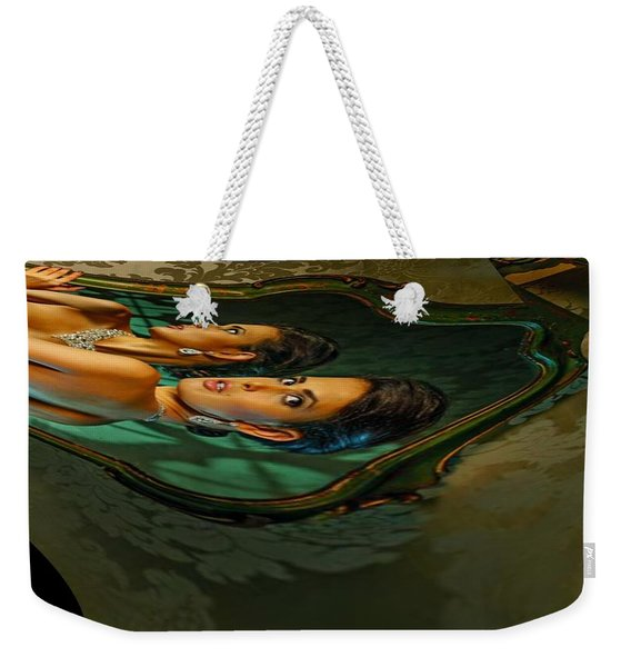 Canary Seaweed Weekender Tote Bag