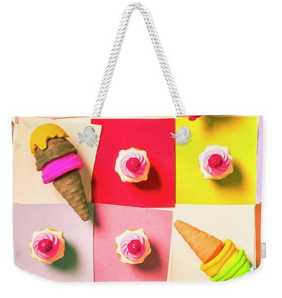 Candy Calendar Weekender Tote Bag