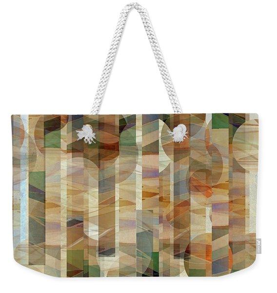 Canyon Circles And Stripes Weekender Tote Bag