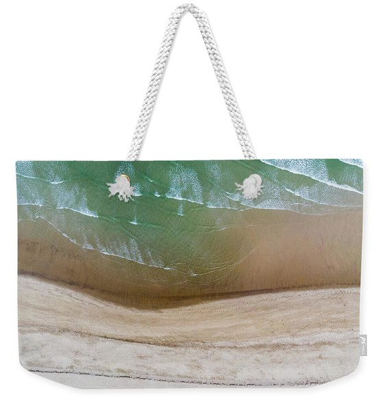 Cape Cod Beach Abstract Weekender Tote Bag