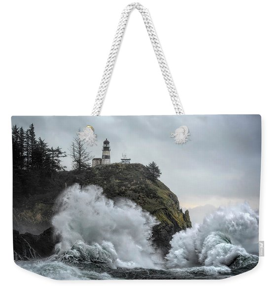 Cape Disappointment Chaos Weekender Tote Bag